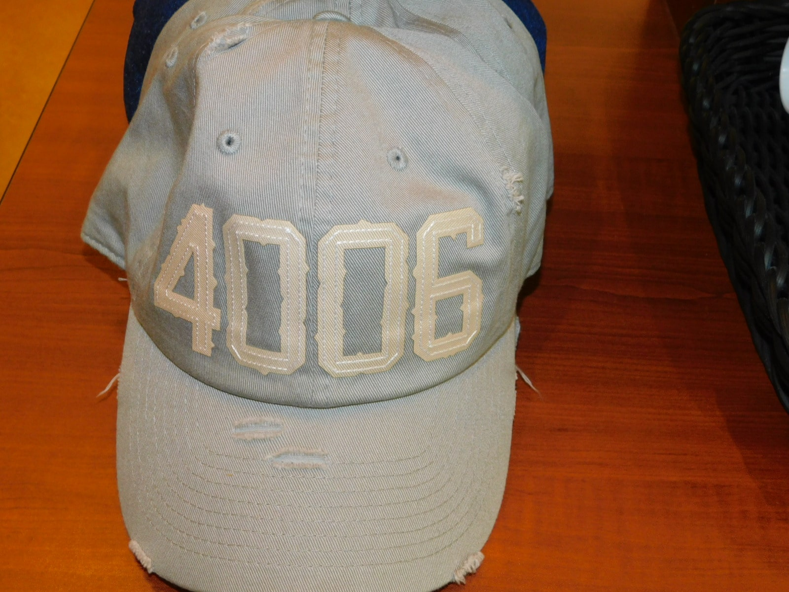 Big Boy #4006 Grey Hat One Size Fits All-Distressed Look